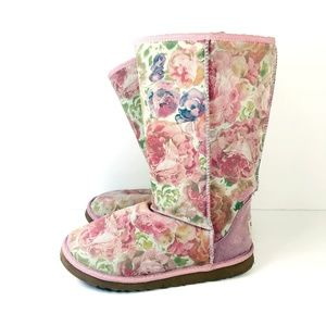 Ugg Romance Floral Authentic Boots